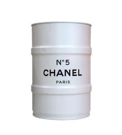 Jaler Fine Art, 'CHANEL Mini Barrel - White', 2020