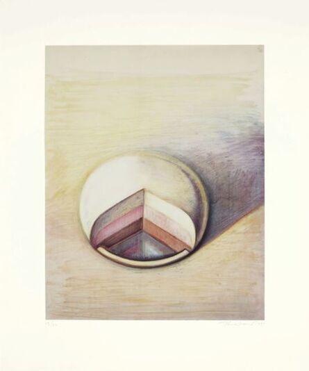 Wayne Thiebaud, 'Neapolitan Pie', 1990
