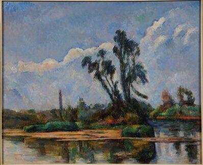 Paul Cézanne, 'River Landscape', 1881