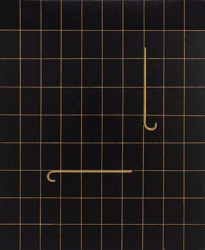 Valdirlei Dias Nunes, 'Sem Título (Grade e bengalas) [Untitled (Grid and canes)]', 2020