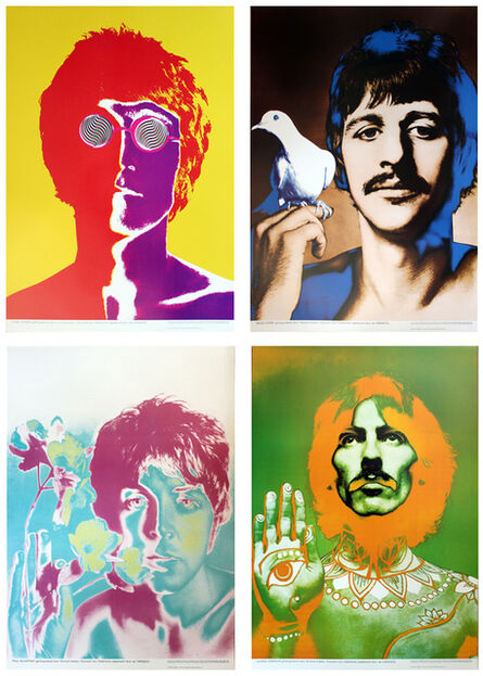 Richard Avedon, 'Beatles Poster (set of 4)', 1967