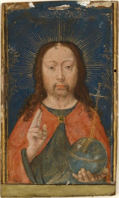 Gerard David, 'Holy Face', ca. 1485–1490
