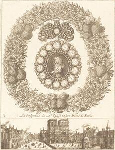 François Le Febvre, 'La perspective de l'englise Nostre Dame de Paris', probably 1665