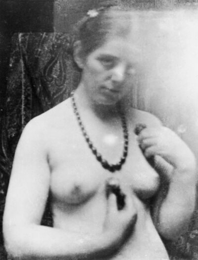 'Paula Modersohn-Becker. Photo study for Nude with Amber Necklace, Paris', 1906