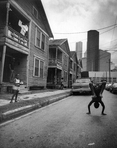 Earlie Hudnall, Jr., 'Flipping Boy, 4th Ward, Houston, TX', 1983