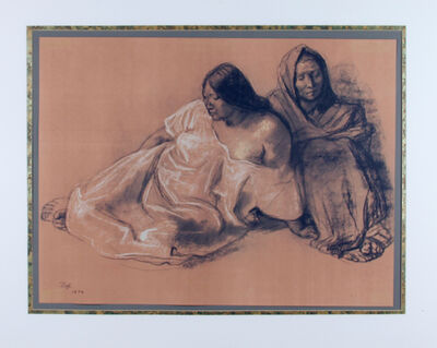 Francisco Zúñiga, 'Untitled (Mother and Daugher)', 1974