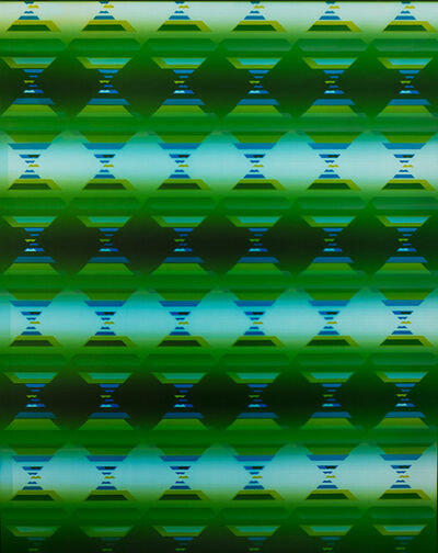 Bryan Graf, '4th Dimension Hourglass Lattice I ', 2018