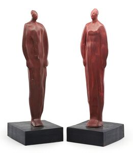 Vladimir Montufar, 'Untitled (Man And Woman)'