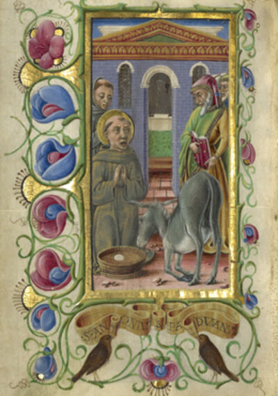 Taddeo Crivelli, 'Saint Anthony of Padua', 1469