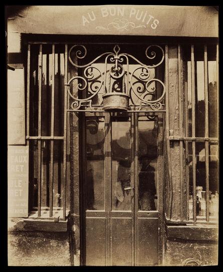 Eugène Atget, 'Au bon puits, rue Michel Le Conte, 36 (IIIe)', 1901