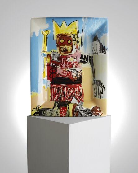 "Jean-Michel Basquiat, '""Untitled"" Porcelain Tray', ca. 2019"