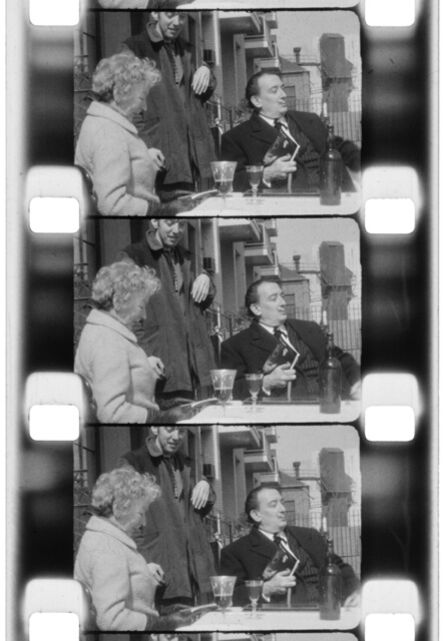 Jonas Mekas, 'Salivador Dali, Taylor Mead and Mary HemingwayNYC,1964 ', 2013