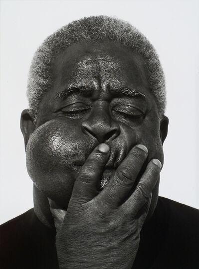 Herb Ritts, 'Dizzy Gillespie, Paris', 1989