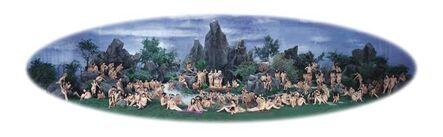 Wang Qingsong, 'Yaochi fiesta', 2005