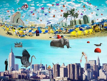 Isack Kousnsky, 'NYC to Tel Aviv ', 2020