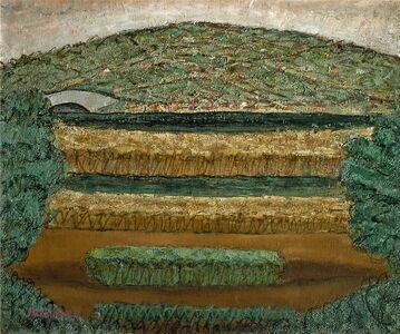 Arnold Friedman, 'Landscape with Bridge', 1944