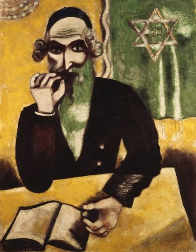 Marc Chagall, 'The Rabbi', 1923-1926