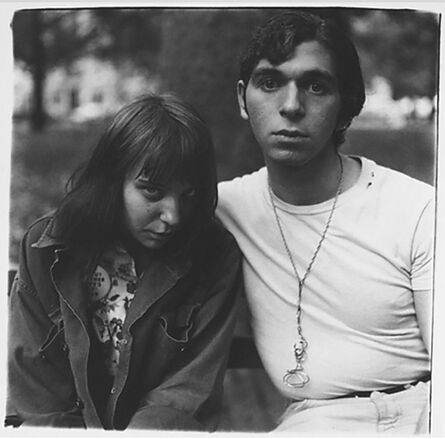 Diane Arbus, 'Girl and Boy in Wash Sq Park NYC', 1965