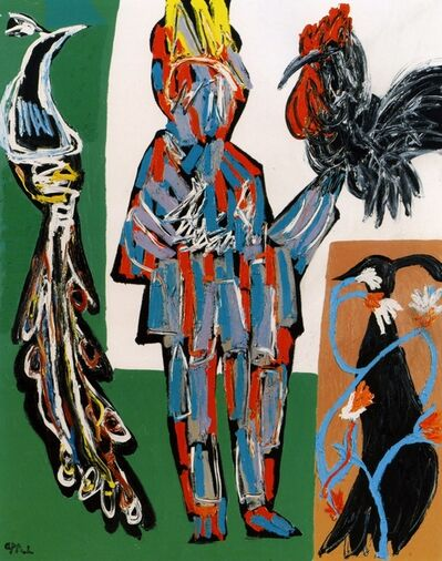 Karel Appel, 'The Birdsman', 1985