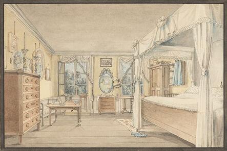 'Interior of a Bedroom', ca. 1810