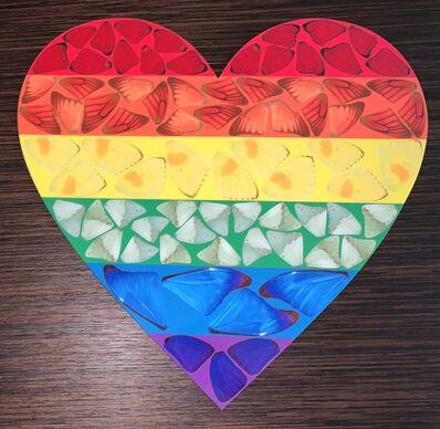 Damien Hirst, 'Rainbow Heart, 2020', 2020