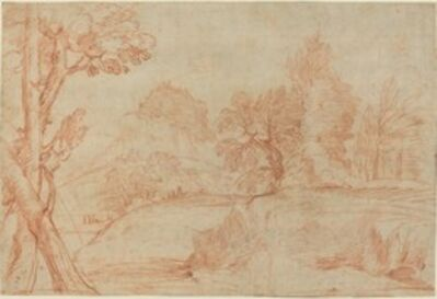 Giovanni Angelo Canini, 'Classical Landscape'