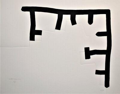 Eduardo Chillida, 'Gora Bach', 1992