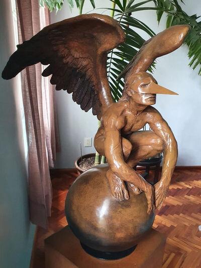 Jorge Marín, 'Ángel sobre mundo', 2009