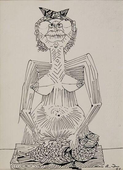 André Masson, 'La Martiniquaise', 1941