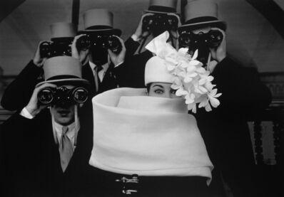 Frank Horvat, 'Paris, for Jardin des Modes, Givenchy Hat (B)', 1958