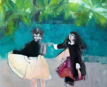 Ruth Shively, 'Girls in the Tropics', 2019