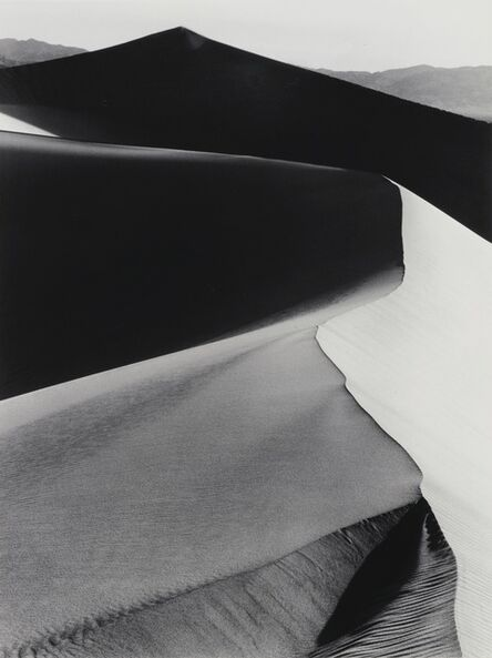 Ansel Adams, 'Sand Dunes, Sunrise, Death Valley, California', 1948