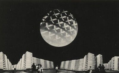 Valdis Celms, 'Architectural proposal Kinetic light object 'Balloon'', 1978