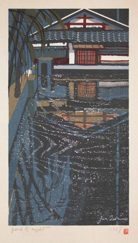 Junichiro Sekino, 'Pond of Night', 1957