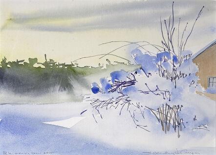 Susan Headley Van Campen, 'Pale Morning Snow'