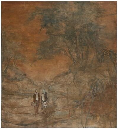 Wang Yabin, ' Poet and Painter', 2014