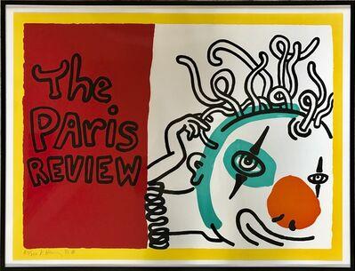 Keith Haring, 'Paris Review', 1989