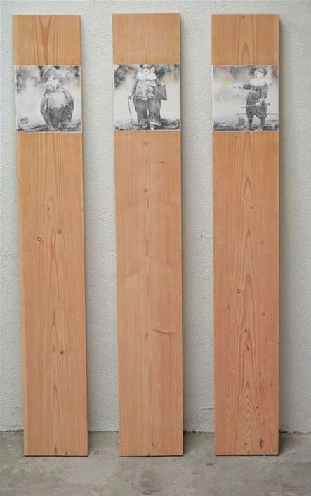 Lawrence Levy, 'Clown Totems', 2020