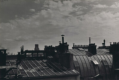 Ilse Bing, 'Paris Roofs, Rue de Varenne', 1937