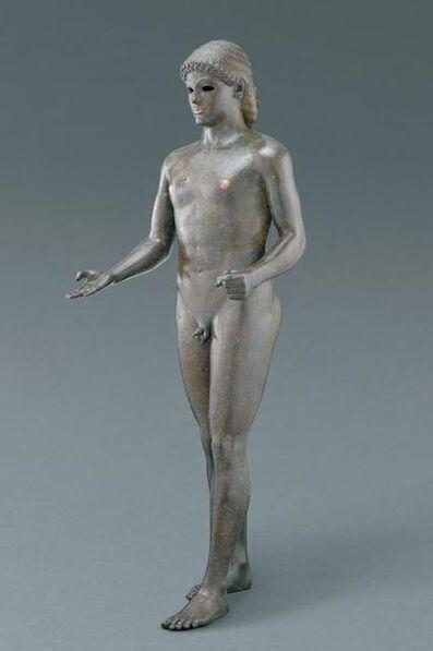 """'Apollo, """"The Piombino Apollo""""', 120-100 B.C."""