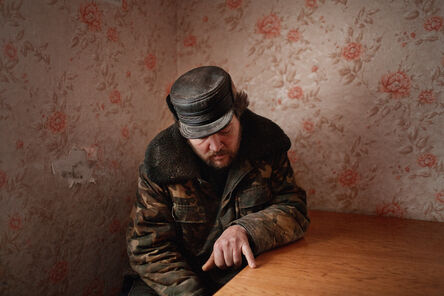 Donald Weber, 'Interrogation X', 2010