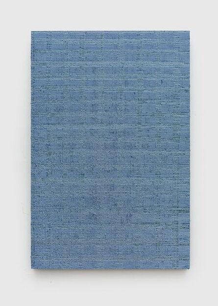 Chi Qun 迟群, 'Intersection - Blue & Grey', 2017