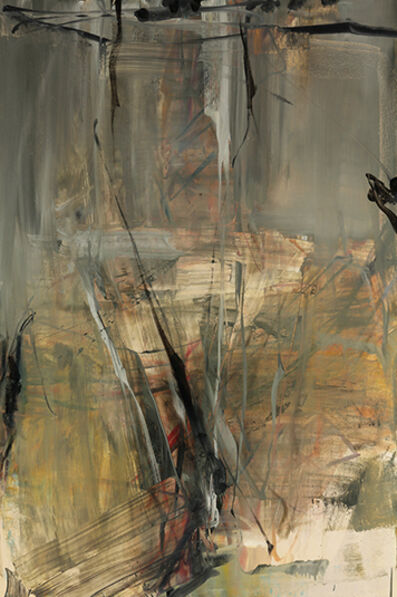 Tom Lieber, 'Tan Grey Shield', 2014