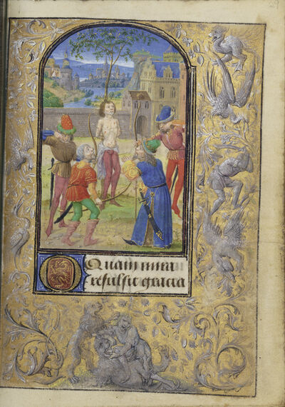 Lievan van Lathem, 'The Martyrdom of Saint Sebastian', 1469