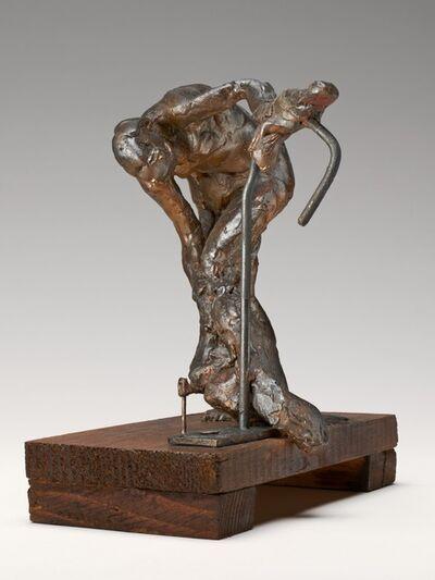 Edgar Degas, 'Woman Washing Her Left Leg', ca. 1890s