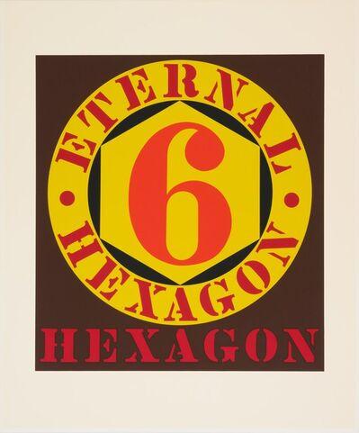 Robert Indiana, 'Eternal Hexagon (from Ten Works x Ten Painters)', 1964