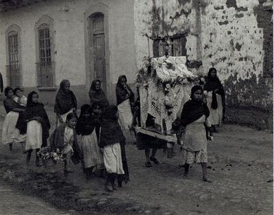 Antonio Reynoso, 'Entierro de Maria (Funeral of Little Mary)', 1940