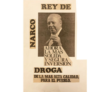 Herbert Rodríguez, 'Rey narco', 1987