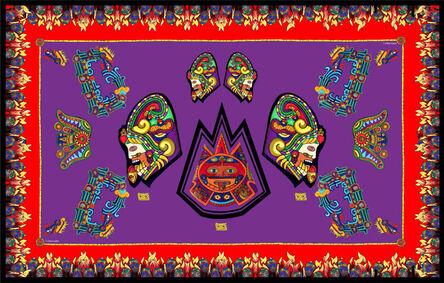 Chloe Trujillo, 'Aztec (Purple)'