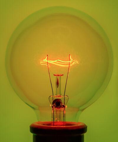 Amanda Means, 'Light Bulb 1 Yellow', 2018